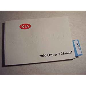 2000 kia sephia owners manual kia amazon com books 2000 kia sephia ...