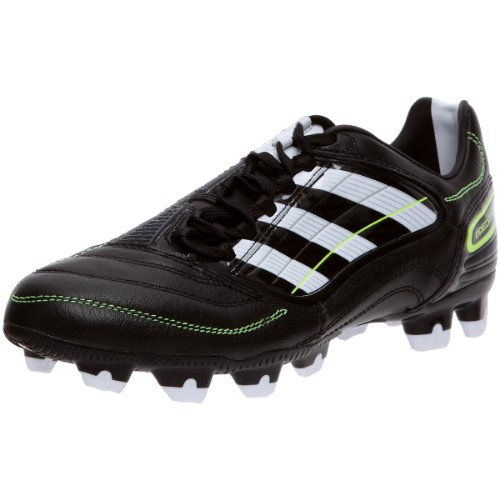 Adidas Predator Absolion _X TRX FG Traxion Firm Ground Football Boots Shoes Trainers Soccer Mens for Men Black Running White Electricity Size UK 6