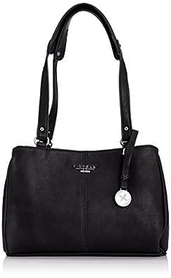 Fiorelli Black Branded Strap Detail Shoulder Bag 75