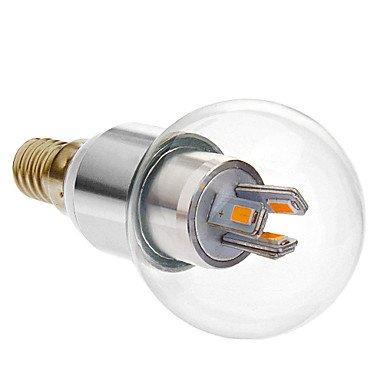 E14 3-3.5W 6X5630Smd 150-200Lm 2800-3500K Warm White Light Led Globe Bulb (110-240V)