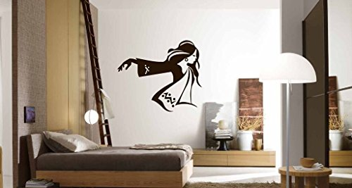 wall-decals-for-teen-girls-fashionable-young-woman-vinyl-sticker-decor-for-bedroom-dance-studio
