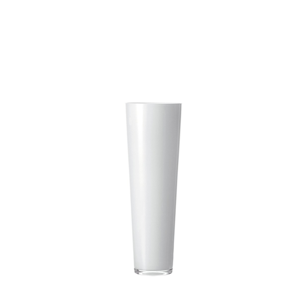 LEONARDO 029563 konische Vase 50 cm weiss
