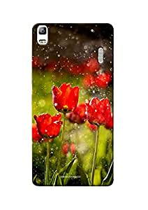 Sowing Happiness Printed Back Cover For Lenovo A7000