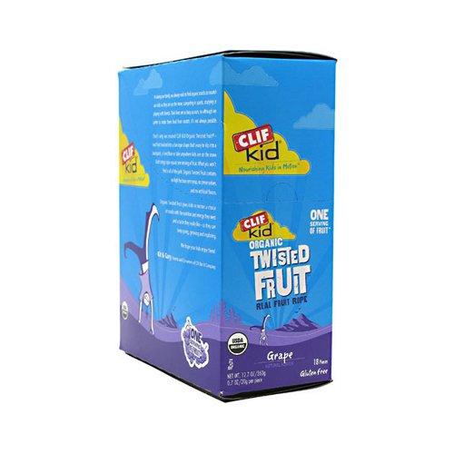 Clif Bar Kid Twisted Fruit Grape 18X .7 Oz front-845264