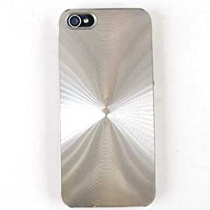 Cell Armor IPhone5-NOV-D08-L Hybrid Novelty Case for iPhone 5 - Retail Packaging - Silver One-Piece
