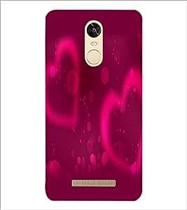 PrintDhaba Hearts D-2437 Back Case Cover for XIAOMI REDMI NOTE 3 MEDIATEK (Multi-Coloured)