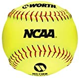 Worth NC11BB NCAA 11 Inch Indoor and Outdoor Training Fastpitch Softball (Sold in Dozens)