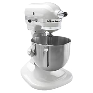 Kitchenaid K4sswh 4 1 2 Quart Bowl Lift Stand Mixer White