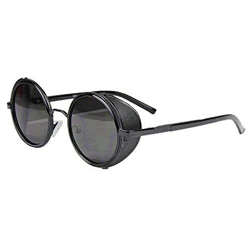 Sunward-Vintage-Mirror-Lens-Round-Glasses-Cyber-Goggles-Steampunk-Sunglasses