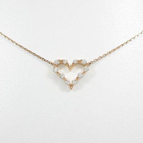 (スタージュエリー) STAR JEWELRY ハート ダイヤモンドネックレス