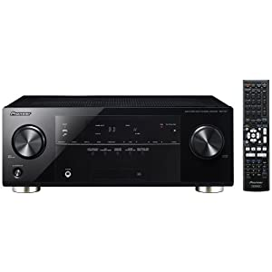 Pioneer VSX-821-K 5.1 Home Theater Receiver, Glossy Black $190