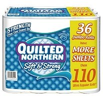 Quilted Northern Soft & Strong Bathroom Tissue - 36 Jumbo Rolls