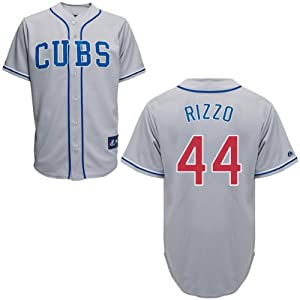 Buy Anthony Rizzo Chicago Cubs Alternate Road Replica Jersey by Majestic by Majestic