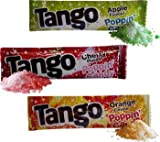 Pack Of 25 Tango Popping Candy In Three Flavours, Apple Orange And Cherry