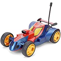 The Flyer's Bay RC Turbo Racer Car - Red Royal Blue (Spiderman) 1:24 Scale Detailed Turbo RC Car (SpiderMan Edition)