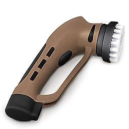Zigabob Electric Shoe Polisher Shoe Shine Kit..Brown