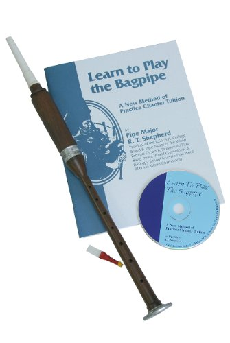 Rosewood Practice Chanter, Book & Cd
