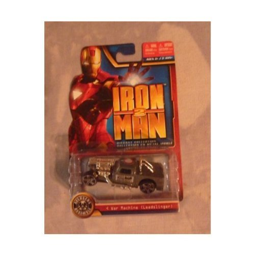 "Marvel IRON MAN 2 Die-Cast Collection - ""War Machine"" [Leadslinger] - 1"