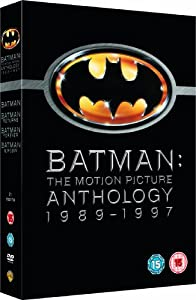 Batman: The Motion Picture Anthology 1989-1997 [DVD] [2005]
