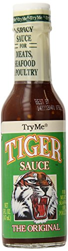 Try Me Sauces Tiger Sauce, 5 Ounce (Pack of 6) (Tiger Sauce 10 Oz compare prices)