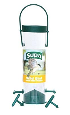 """Wild Bird 8"""" / 4 Port Niger Seed Feeder"""