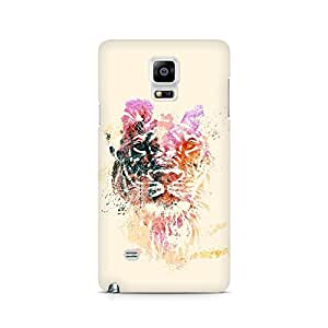 Mobicture The Tiger Art Premium Printed Case For Samsung Note 4 N9108