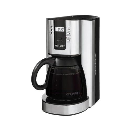 Amazon.com: Mr. COFFEE 12- Cups PROGRAMMABLE COFFEE MAKER BVMC-TJX37(2012): Electric Coffee ...