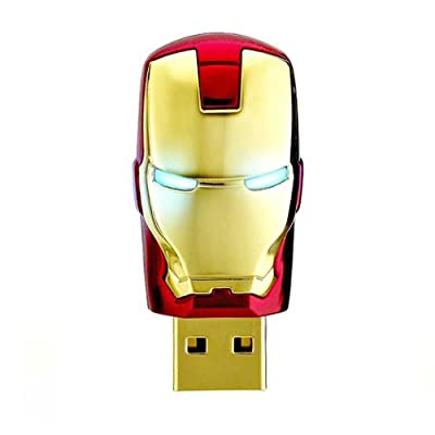 8GB IRON MAN USB Flash Memory Drive from JellyFlash