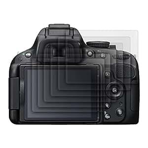 6x kwmobile film de protection pour écran MAT et ANTI-REFLETS avec effet anti-traces de doigts pour Nikon D5100. QUALITÉ SUPÉRIEURE