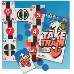 Bicycle Take the Train Card Game - 1