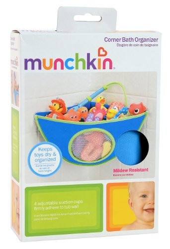 munchkin-corner-bath-organizer-blue