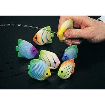 Vinyl Mini Fish Squirts (1 Dozen) - Bulk