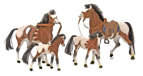melissa-doug-horse-family-with-4-collectible-horses