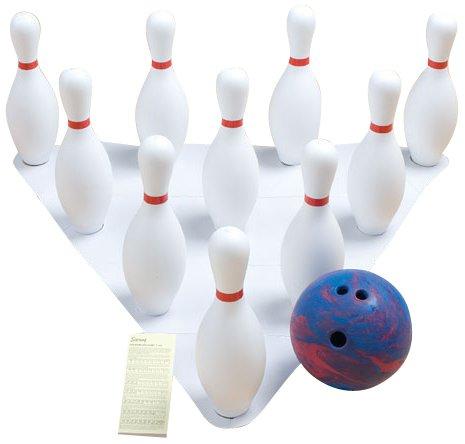 gamecraft-weighted-bowling-set