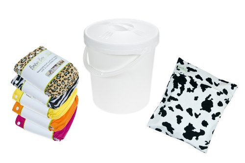 5 Reusable Cloth Nappy Starter Kit