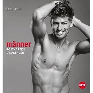 Männer Postkartenkalender 2015