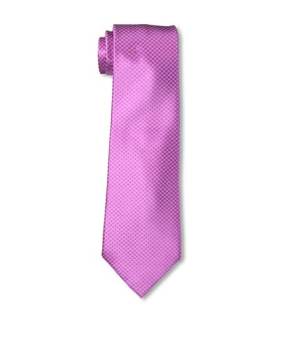 Ermenegildo Zegna Men's Checked Tie, Magenta