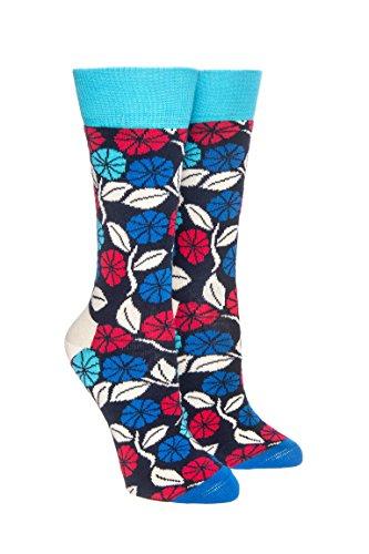 Desert Flower Crew Socks