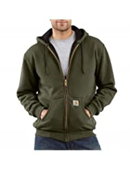 Carhartt Men's Big-Tall Thermal Lined Hooded Zip Front Sweatshirt