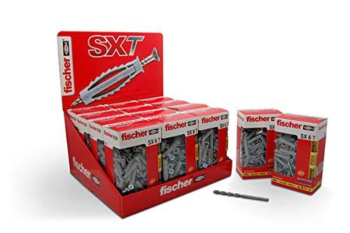 fischer-taco-nylon-sxt8-tornillo-c-50-fischer-5x50-mm