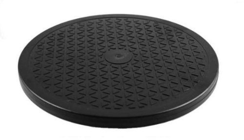 "1 X 10"" Rotating Turntable - Lazy Susan - 65 Lbs Capacity"