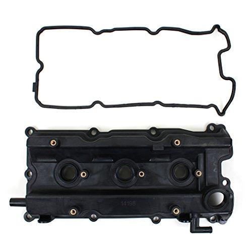 Brand New FVC110 Valve Cover, Valve Cover Gasket, & Spark Plug Tube Seals (Left - Driver Side) For Infiniti & Nissan 3.5L (3498cc) V6 Engine Code VQ35DE 2003-07 Murano (07 Nissan Murano Valve Cover compare prices)