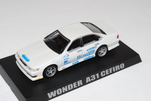 Nissan Cefiro A31 Wonder Limousine Weiss 1988-1994 1/64 Kyosho Sonderangebot Modell Auto