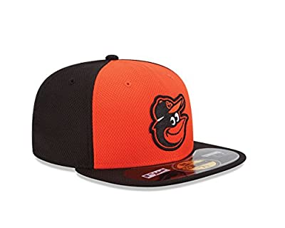 MLB Baltimore Orioles Men's Authentic Diamond Era 59FIFTY Fitted Cap, 814, Orange