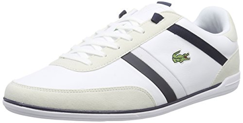 Lacoste GIRON 116 1 SPM, Herren Sneakers, Weiß (WHITE 001), 45 EU (10.5 Herren UK) thumbnail