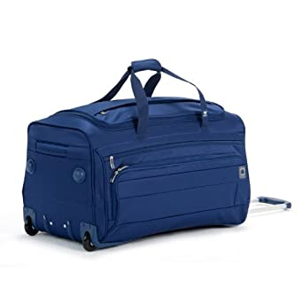 Delsey Luggage Helium Superlite Spinners Trolley Duffel, Blue, One Size