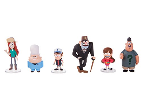 "Gravity Falls 2"" Figure 6-Pack by Gravity Falls"