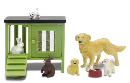 Imagen principal de Lundby 60.9020.00 Stockholm - Set de animales para casita de muñecas