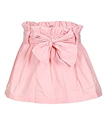 Tickles Girls Woven Skirt(TIWS000083A_2-3Y_Pink_2-3 Years)