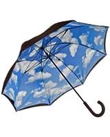 Elite Rain Adult Lotus Frame Hand Held Umbrella Inside